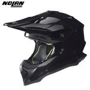Шлем кроссовый Nolan N53 Smart, Чёрный
