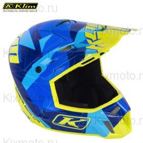 Шлем Klim F3 Cross Blue Camo