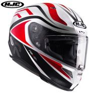 Шлем HJC RPHA 11 Vermo, Черный/белый/красный