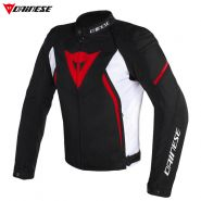 Куртка Dainese Avro D2 Tex текстильная, Красная