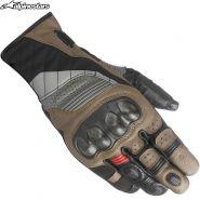 Перчатки Alpinestars Belize Drystar, Черный/Коричневый